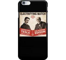 Edison vs Tesla iPhone Case/Skin