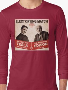 Edison vs Tesla Long Sleeve T-Shirt