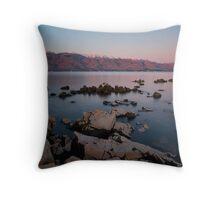 Under the mountain Velebit Throw Pillow