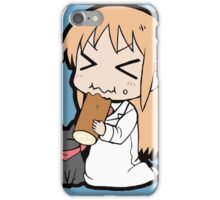 Hakase and Sakamoto Chibi iPhone Case/Skin