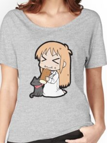 Hakase and Sakamoto Chibi Women's Relaxed Fit T-Shirt