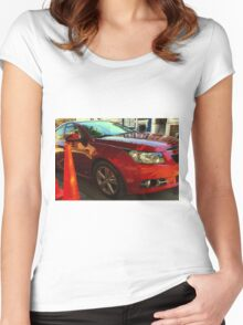 A Nice Reflection On You Women's Fitted Scoop T-Shirt