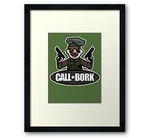 Call of Bork Framed Print