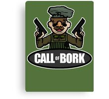 Call of Bork Canvas Print
