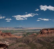 Ute Canyon Overlook in Colorado National Monument by Rob Schoon