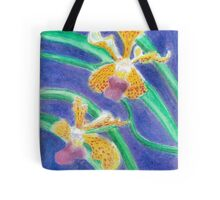 Orchid - Oil Pastel Tote Bag