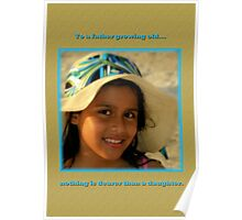 Message To My Daughter Poster
