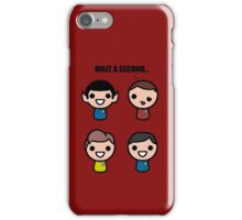 Red shirt of death iPhone Case/Skin