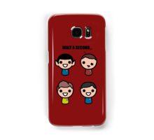 Red shirt of death Samsung Galaxy Case/Skin