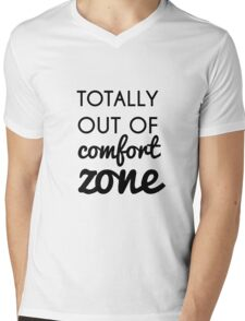 Totally Out of Comfort Zone Mens V-Neck T-Shirt
