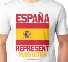 España represent Unisex T-Shirt