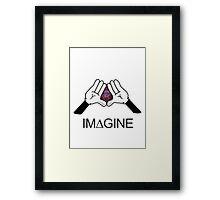IM∆GINE Framed Print