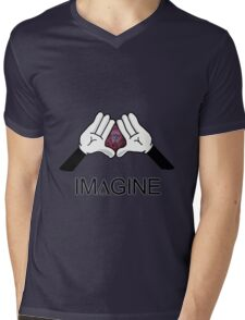 IM∆GINE Mens V-Neck T-Shirt