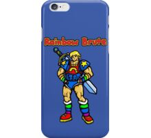 Rainbow Brute iPhone Case/Skin