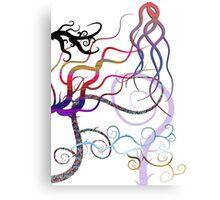 Freaky Swirls Canvas Print