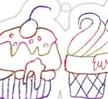 Cupcakey Sticker