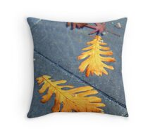 Autumn Leaves Floating Throw Pillow