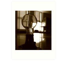 The Mazda Bulb Art Print