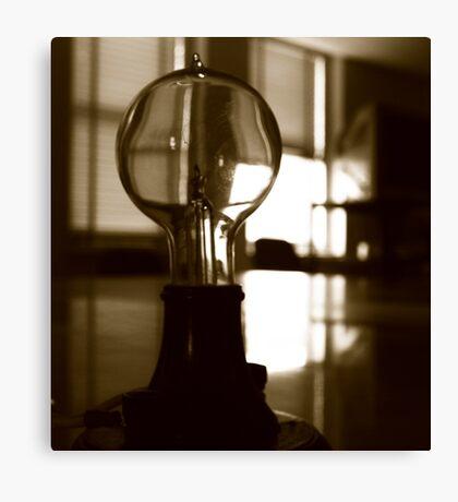 The Mazda Bulb Canvas Print