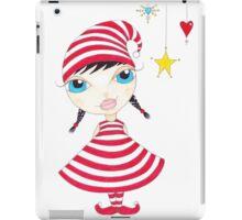 Candy Cane Elf iPad Case/Skin