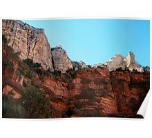 Orange Cliffs of Grand Canyon! Poster