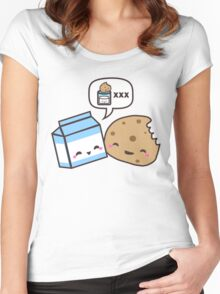 Milk and Cookies Women's Fitted Scoop T-Shirt