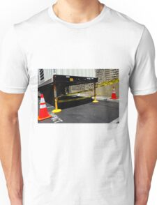 Caution Compact Unisex T-Shirt