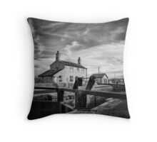 Counterweight of change Throw Pillow