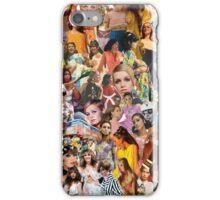 1960s Fashion Collage iPhone Case/Skin