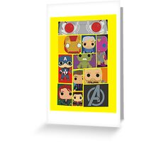 Assemble  Greeting Card