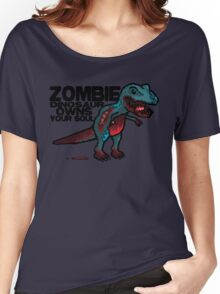 Zombie Dinosaur Women's Relaxed Fit T-Shirt