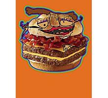 ...Burger  Photographic Print