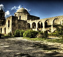 Mission San José y San Miguel de Aguayo by Terence Russell