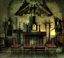 In the Mission Chapel by Terence Russell