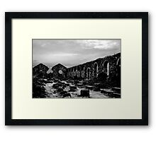 Wheal Basset Tin Mine Framed Print