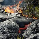 Lava and fire. by Hannah Fenton williams