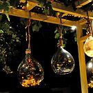 "Skiathos - Fancy lamps at ""SCUNA"" Reastaurant   by Daniela Cifarelli"