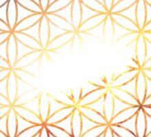 Galaxy of Fire | Flower of Life Sticker