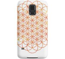 The Sun | Flower of Life Samsung Galaxy Case/Skin