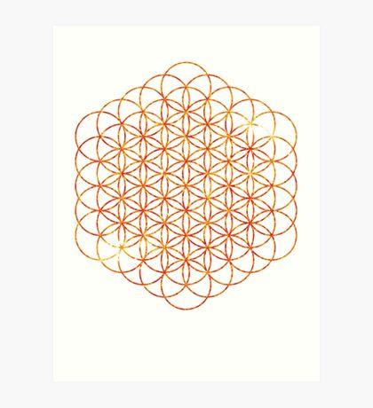 The Sun | Flower of Life Art Print