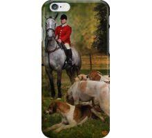 Horse & Hounds iPhone Case/Skin