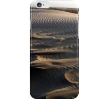 Waves of sand Midsland beach iPhone Case/Skin