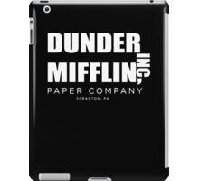 Dunder Mifflin Inc A Paper Company  iPad Case/Skin