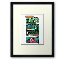 Myth.. busted Framed Print