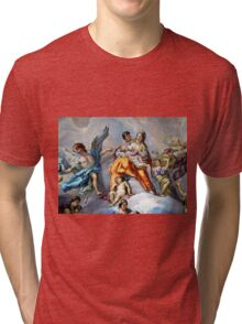 Art in Karlskirche in Vienna Tri-blend T-Shirt