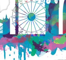 Inky London Skyline Sticker