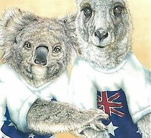 Aussie treasures by Pete Morris