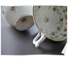 Crockery by two Poster