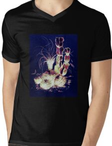 Defender of the Desert 2.0 Mens V-Neck T-Shirt