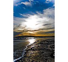 Shanklin Beach Isle Of Wight! Photographic Print